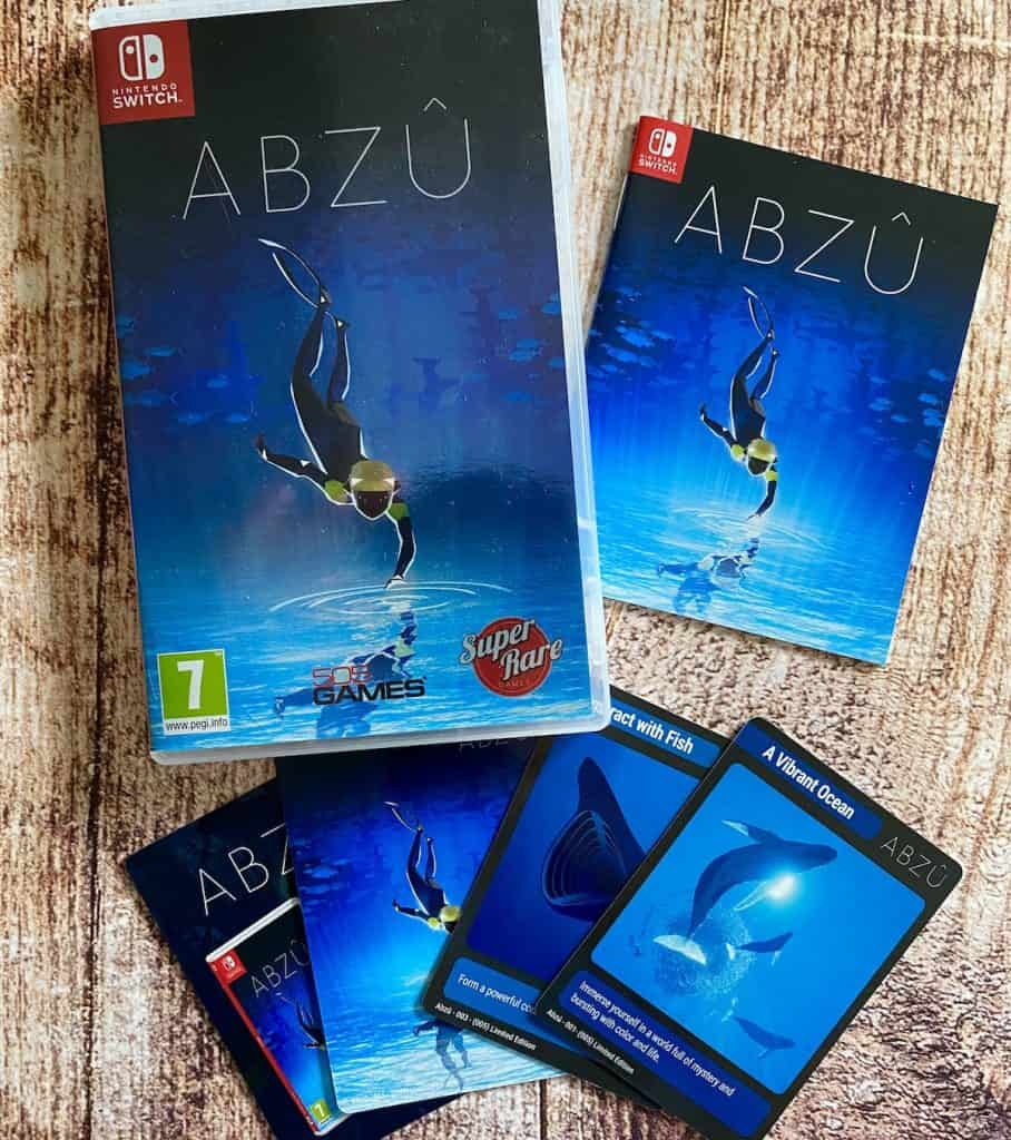 Abzu physical for Nintendo Switch with manual and collectible cards
