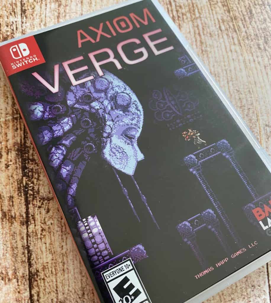 Axiom Verge Switch physical case