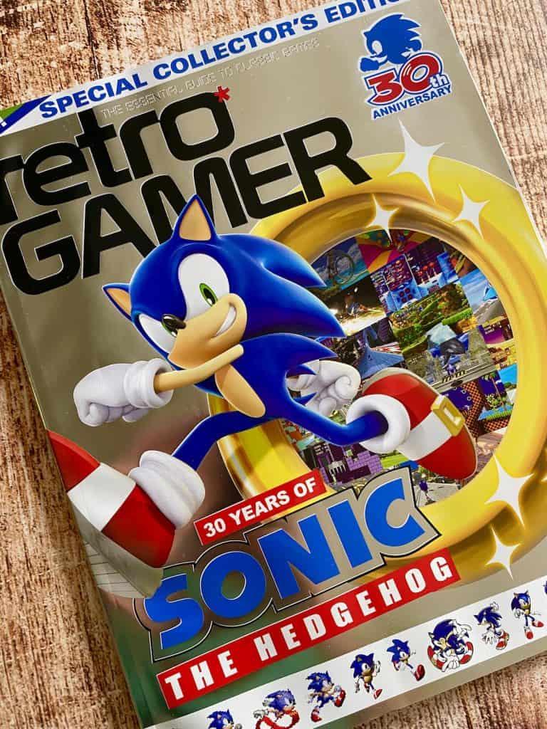 Retro Gamer Sonic Issue cover