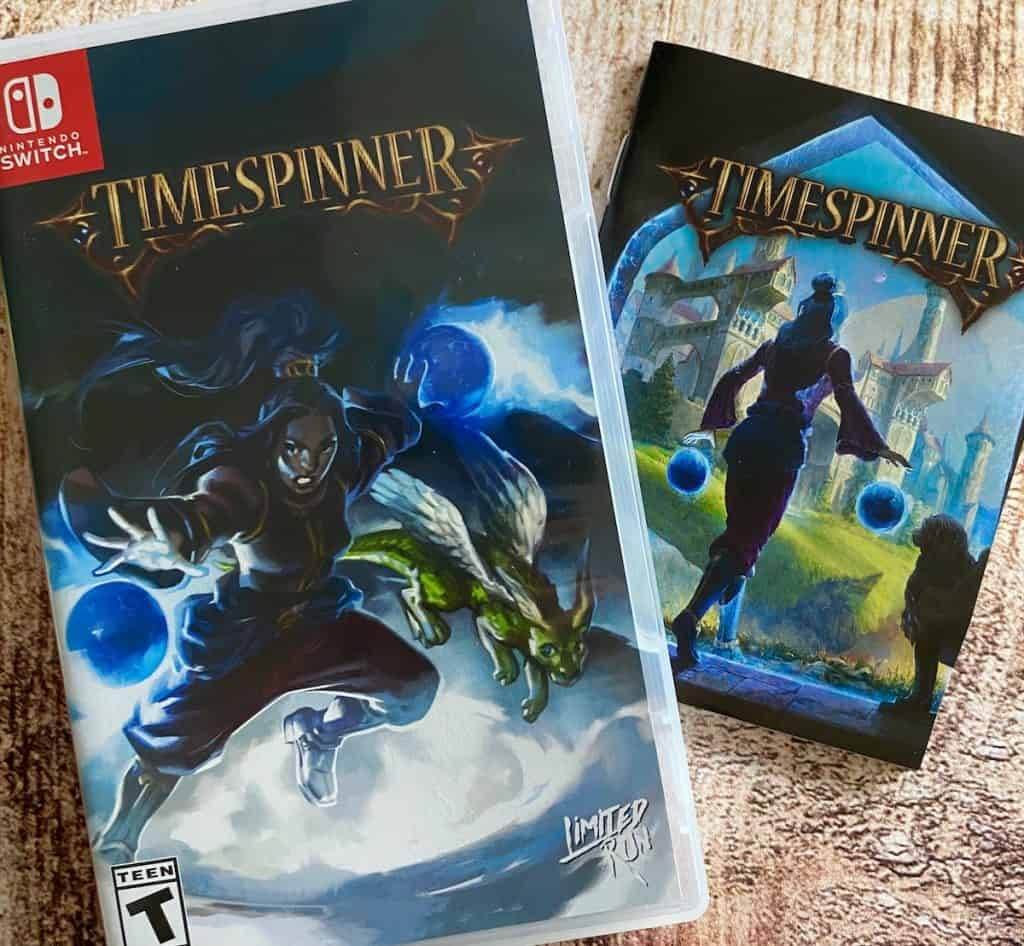 Timespinner Switch physical with manual